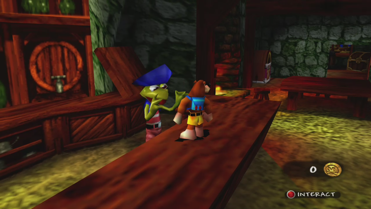 P 0 I S 0 N S playing Banjo-Tooie