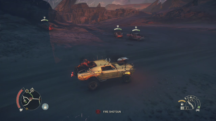 AuthenticAustin playing Mad Max